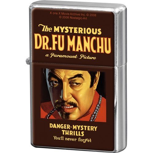 Nostalgic Αναπτήρας Movie Art Dr. Fu Manchu brands nostalgic art