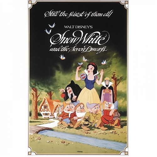 Μεταλλικός πίνακας Disney Classic Film Posters Snow White brands nostalgic art