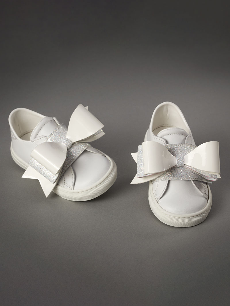 Everkid Βαπτιστικά Sneakers Λευκά 211067A