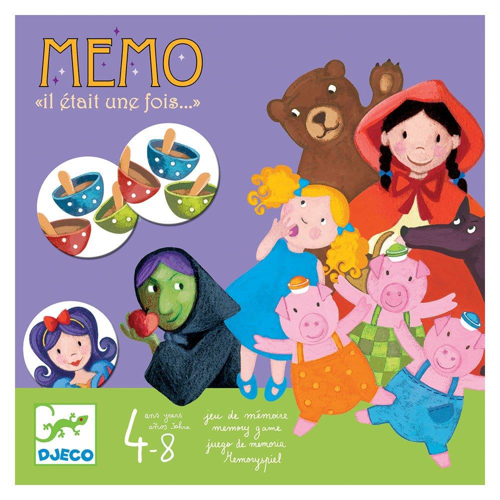 Djeco Επιτραπέζιο 'Memo - Once upon a time'