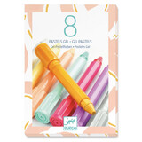 Djeco The colours - For older children 8 gel pastels - sweet colours