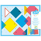 Djeco Young children - Collages Magic squares