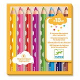 Djeco The colours - For little ones 8 colouring pencils for little ones