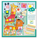 Djeco Small gifts - Stickers With coloured dots