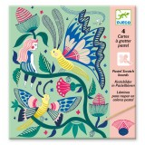 Djeco Small gifts - Scratch cards Fantasy garden