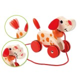 Joueco Rolling Dog with Wheels 80046