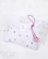Christening Bonbonniere  Fabric Envelope  100392