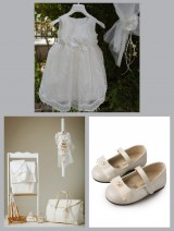 "Winter Christening Package ""Alabaster Bird"" 01661"