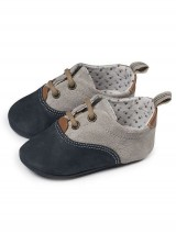 Babywalker Micro Brogue Blue-Grey ΜΙ1082