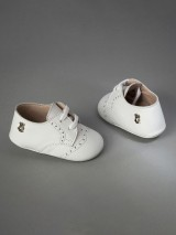 Everkid Christening Baby Shoes White 211100A