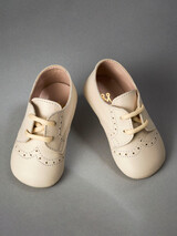 Everkid Christening Baby Shoes Ivory 211100E