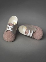 Everkid Christening Baby Shoes Terracotta 211103A