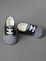Everkid Christening Baby Shoes Blue 211103M