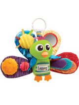 "Clip toy ""Jacques the Peacock"" Lamaze  LC27013"