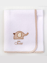 "Waterproof Sheet ""Welcome Little One"" Baby Oliver 302"