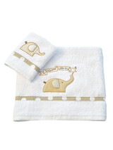 "Towel Set ""Welcome Little One"" Baby Oliver 302"