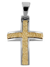 Cross 14Κ Gold and White Gold SIO51911