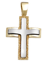 Cross 14Κ Gold and White Gold SIO53011