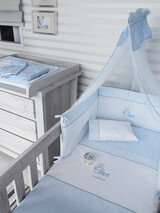 "Bedding Set Byblos ""One Blue"" 82"