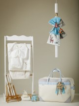 "Jour Beni Christening Set ""Be Brave"" Sky Blue 9SB03"