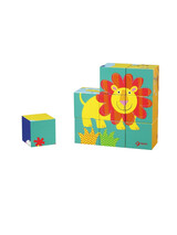 Classic World Wild Animal Blocks Puzzle CL3545