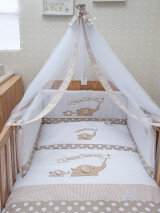 "Bedding Set Baby Oliver ""Welcome Little One"" 302"