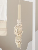 """Christening Candle Giannopoulos """"Boho"""" 5335"""