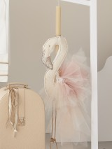 """Christening Candle Giannopoulos """"Flamingo"""" 5339"""