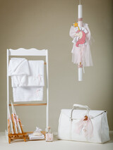 "Jour Beni Christening Set ""Unicorn"" White-Pink 8SG04"