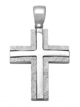 Cross 14K White Gold SIO12093