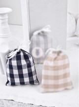 Christening Bonbonniere  Fabric Pouch  100954