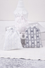 Christening Bonbonniere  Fabric Pouch 101156